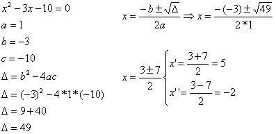 Equação do Segundo Grau