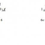 Equação do 1° grau com incógnita